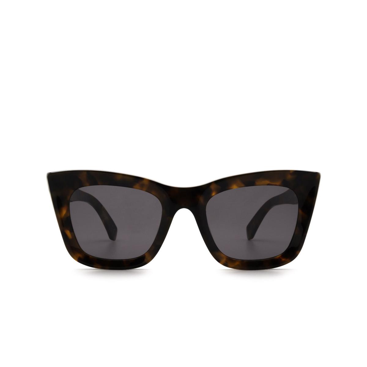 Retrosuperfuture® Square Sunglasses: Oltre color Classic Havana N0X - front view.