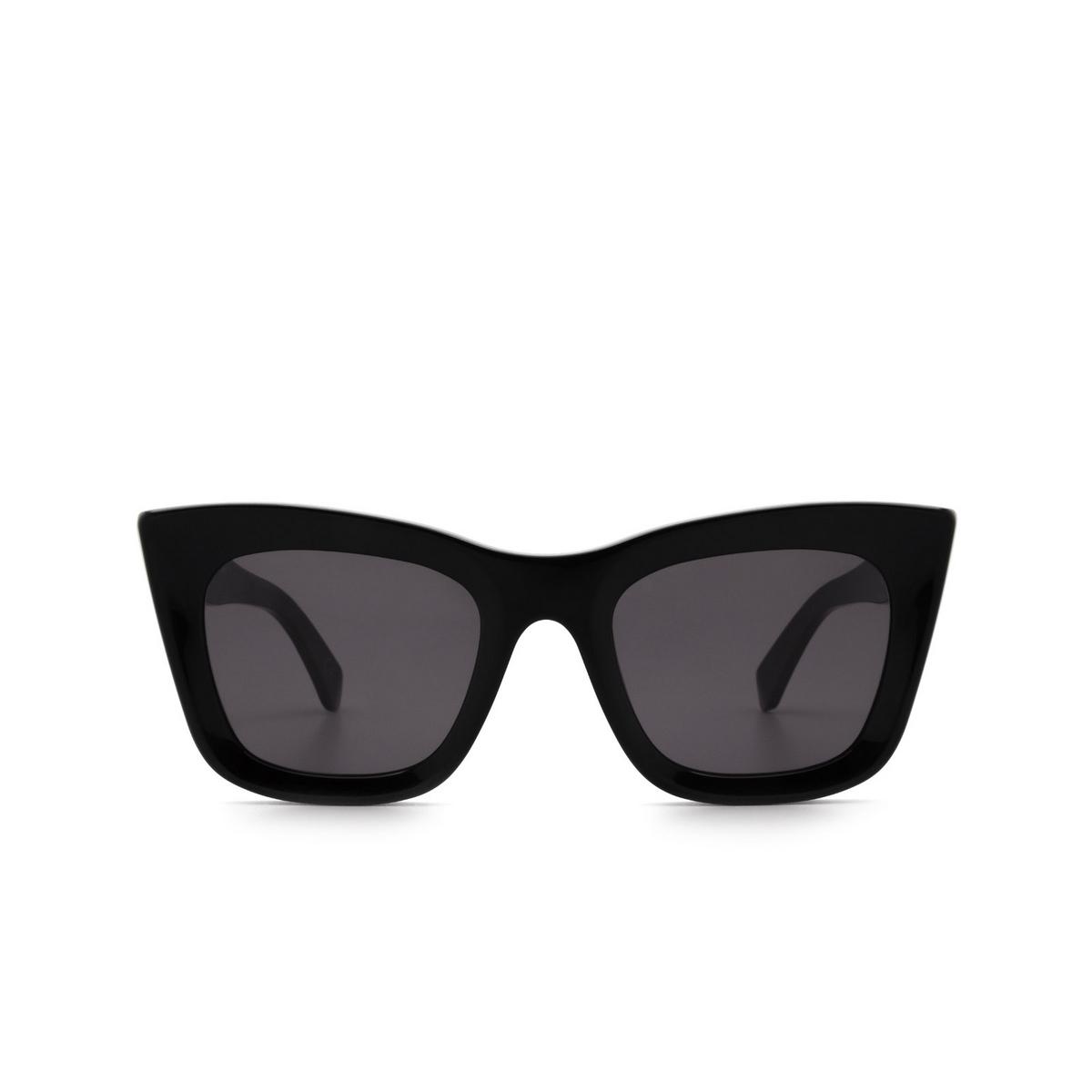 Retrosuperfuture® Square Sunglasses: Oltre color Black RG6 - front view.