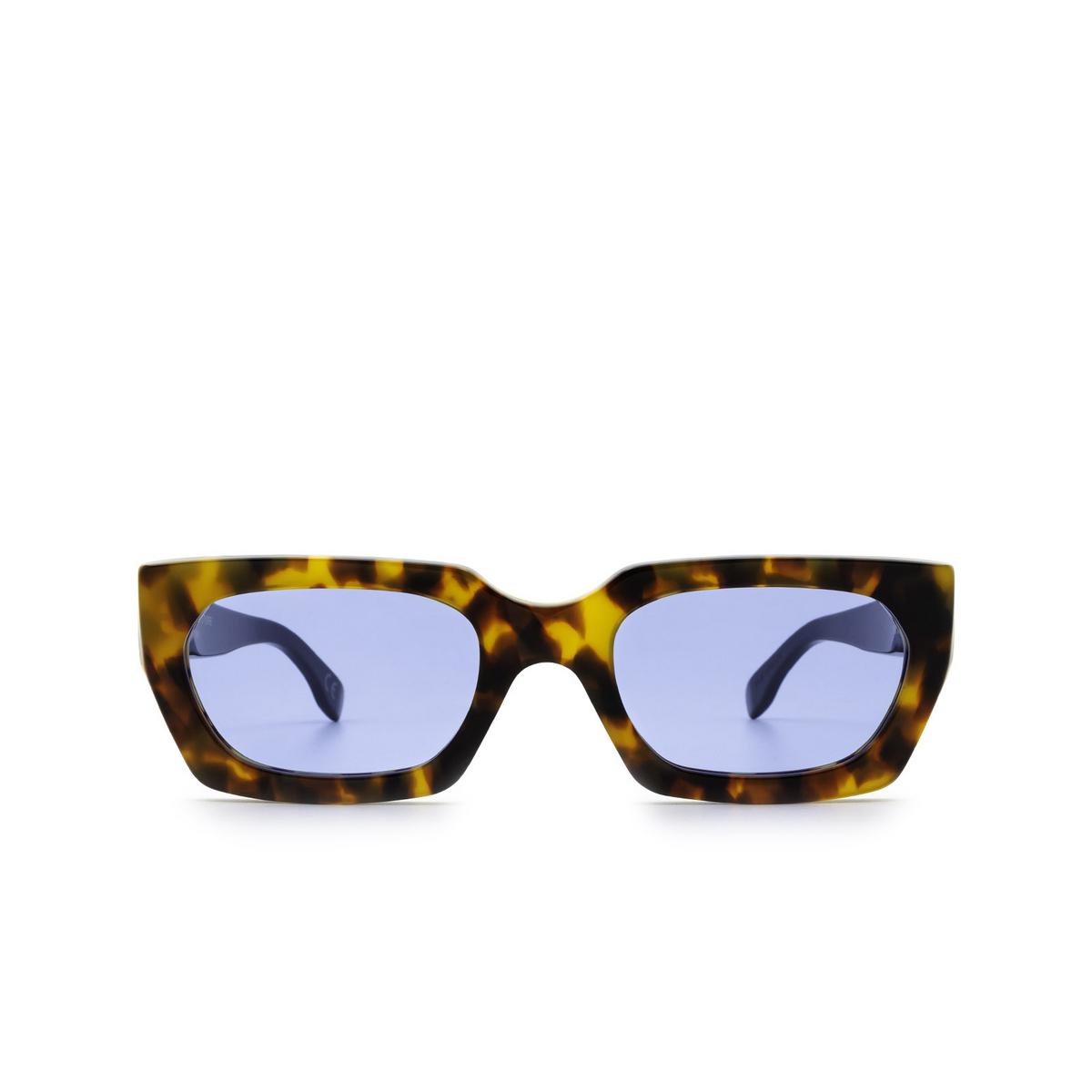 Retrosuperfuture® Rectangle Sunglasses: Teddy color Espresso 1HJ.