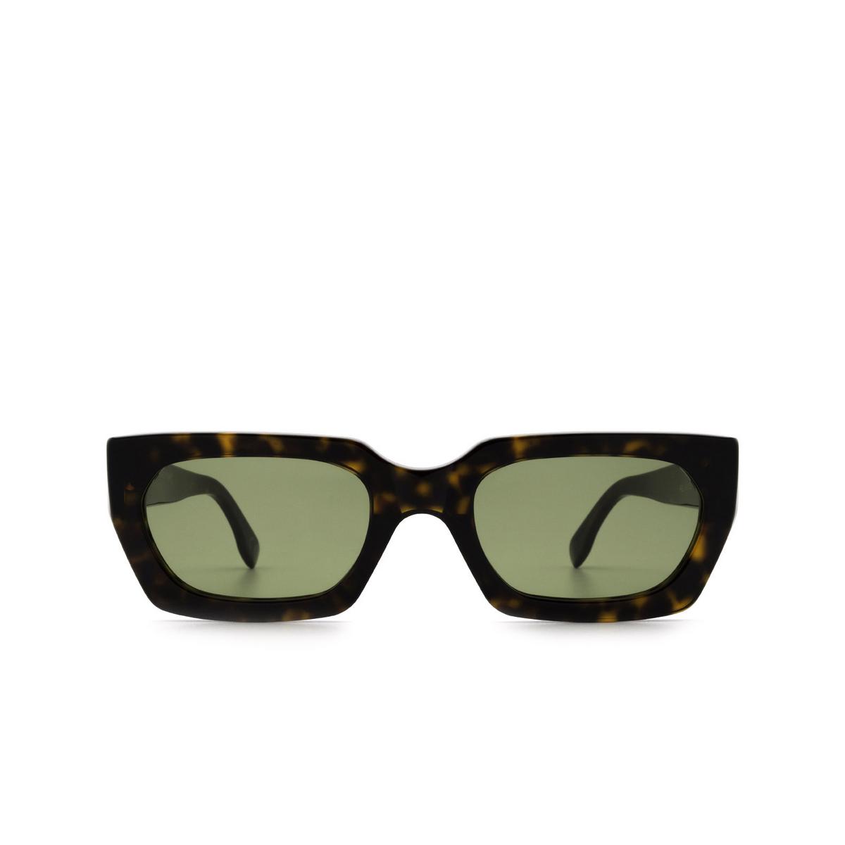 Retrosuperfuture® Rectangle Sunglasses: Teddy color 3627 9RZ - front view.