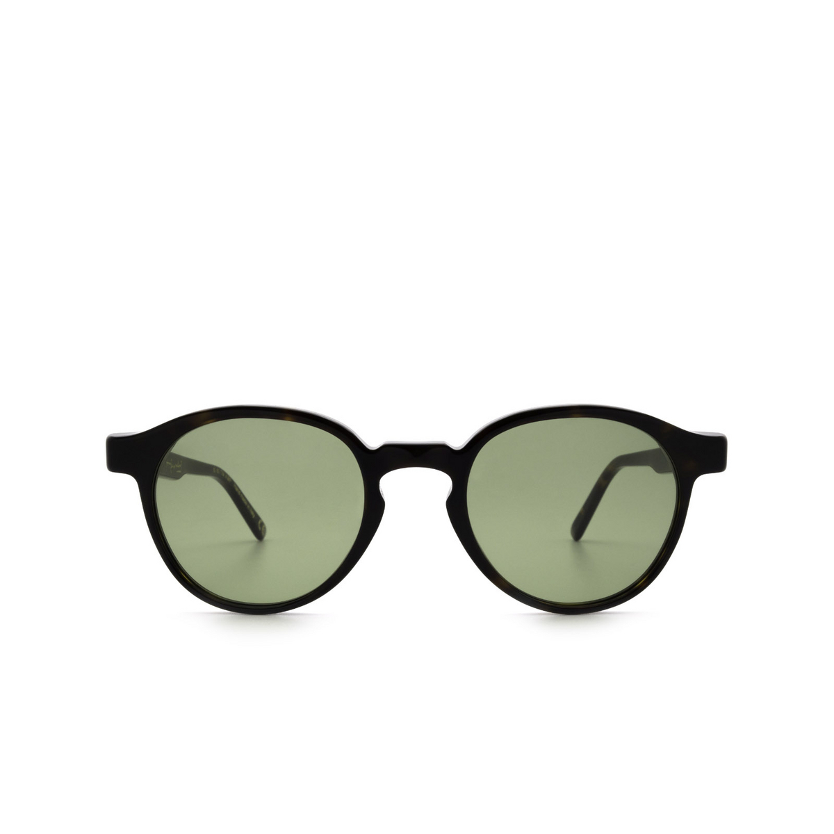 Retrosuperfuture® Round Sunglasses: The Warhol color 3627 J02 - front view.
