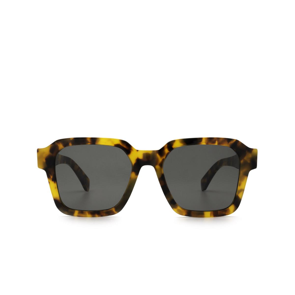 Retrosuperfuture® Square Sunglasses: Vasto color Spotted Havana 0CG - front view.