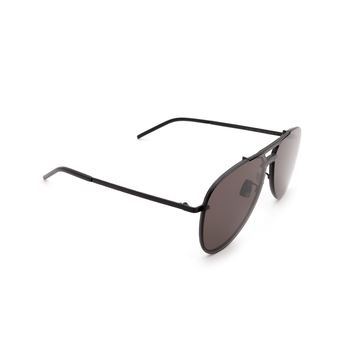 Saint Laurent® Aviator Sunglasses: CLASSIC 11 MASK color Black 002 - 2/3.