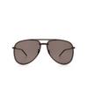 Saint Laurent® Aviator Sunglasses: CLASSIC 11 MASK color Black 002 - product thumbnail 1/3.