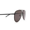 Saint Laurent® Aviator Sunglasses: CLASSIC 11 MASK color Black 002 - product thumbnail 3/3.