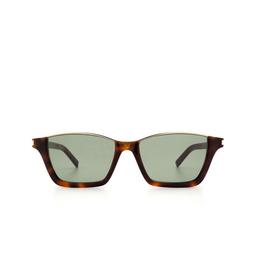 Saint Laurent® Square Sunglasses: Dylan SL 365 color Havana 001.