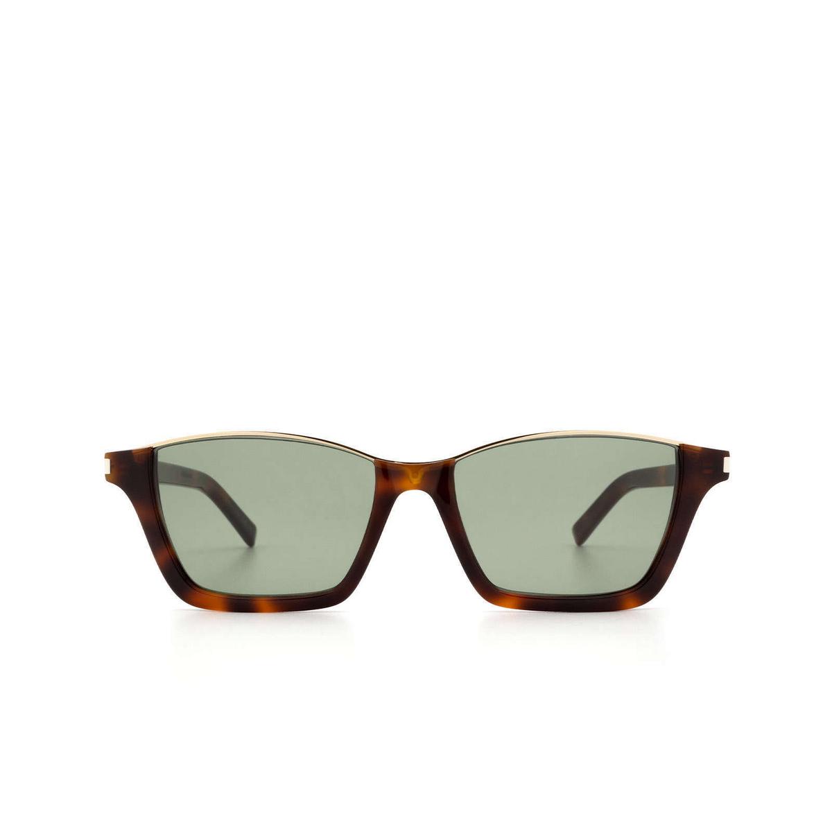Saint Laurent® Square Sunglasses: Dylan SL 365 color Havana 001 - 1/3.