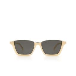 Saint Laurent® Square Sunglasses: Dylan SL 365 color White 004.