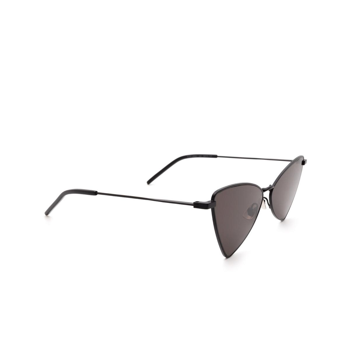 Saint Laurent® Irregular Sunglasses: Jerry SL 303 color Black 002.