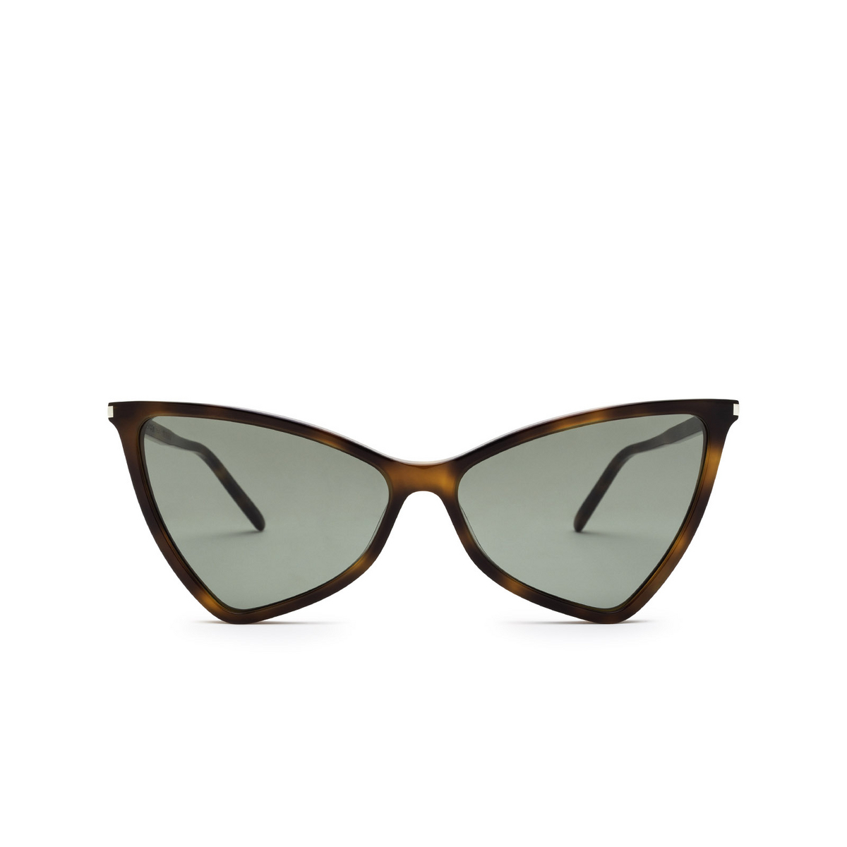 Saint Laurent® Irregular Sunglasses: Jerry SL 475 color Havana 002 - front view.