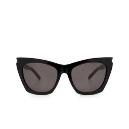 Saint Laurent® Sunglasses: Kate SL 214 color Black 001.
