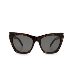 Saint Laurent® Sunglasses: Kate SL 214 color Havana 006.
