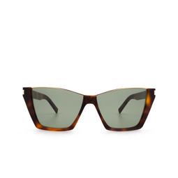 Saint Laurent® Sunglasses: Kate SL 369 color Havana 002.