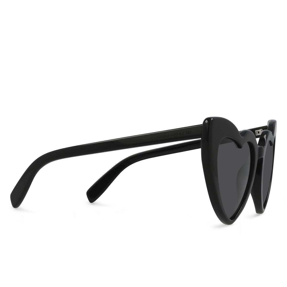 Saint Laurent® Irregular Sunglasses: Loulou SL 181 color Black 001.