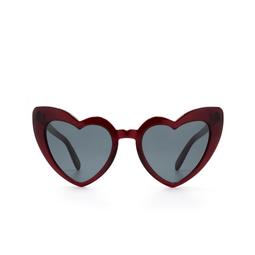 Saint Laurent® Sunglasses: Loulou SL 181 color Red 004.