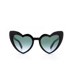 Saint Laurent® Sunglasses: Loulou SL 181 color Black 007.