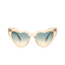 Saint Laurent® Sunglasses: Loulou SL 181 color Yellow 017.