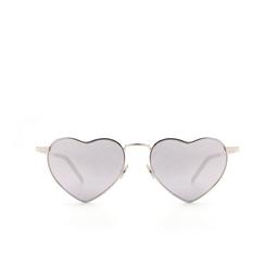 Saint Laurent® Sunglasses: Loulou SL 301 color Silver 003.