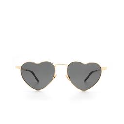 Saint Laurent® Irregular Sunglasses: Loulou SL 301 color Gold 004.