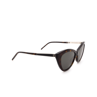 Saint Laurent® Cat-eye Sunglasses: SL M81 color Havana 002.