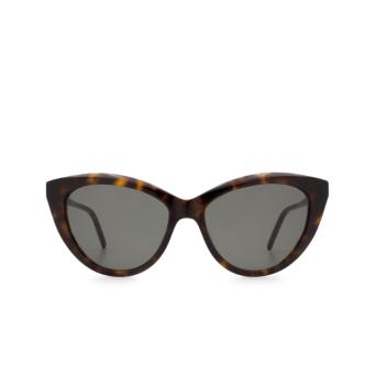Saint Laurent® Cat-eye Sunglasses: SL M81 color Havana 002.