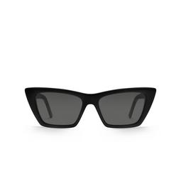 Saint Laurent® Sunglasses: Mica SL 276 color Black 001.