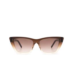 Saint Laurent® Sunglasses: Mica SL 276 color Brown 019.