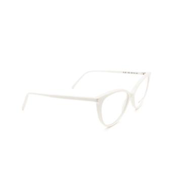 Saint Laurent® Cat-eye Eyeglasses: SL 261 color Ivory 003.