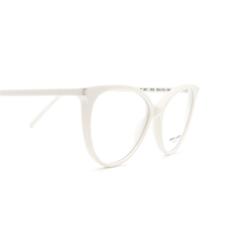 Saint Laurent® Cat-eye Eyeglasses: SL 261 color Ivory 003.