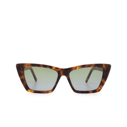 Saint Laurent® Sunglasses: Mica SL 276 color Havana 020.