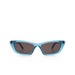 Saint Laurent® Sunglasses: SL 277 color Light Blue 008.