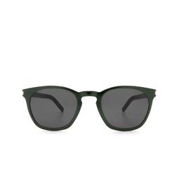 Saint Laurent® Sunglasses: SL 28 SLIM color Green 005.
