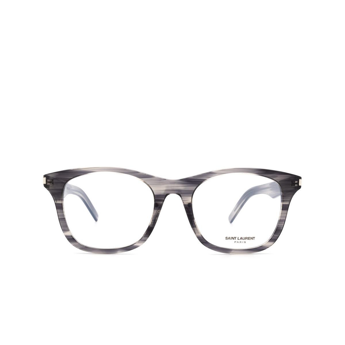 Saint Laurent® Square Eyeglasses: SL 286 SLIM color Havana 012.