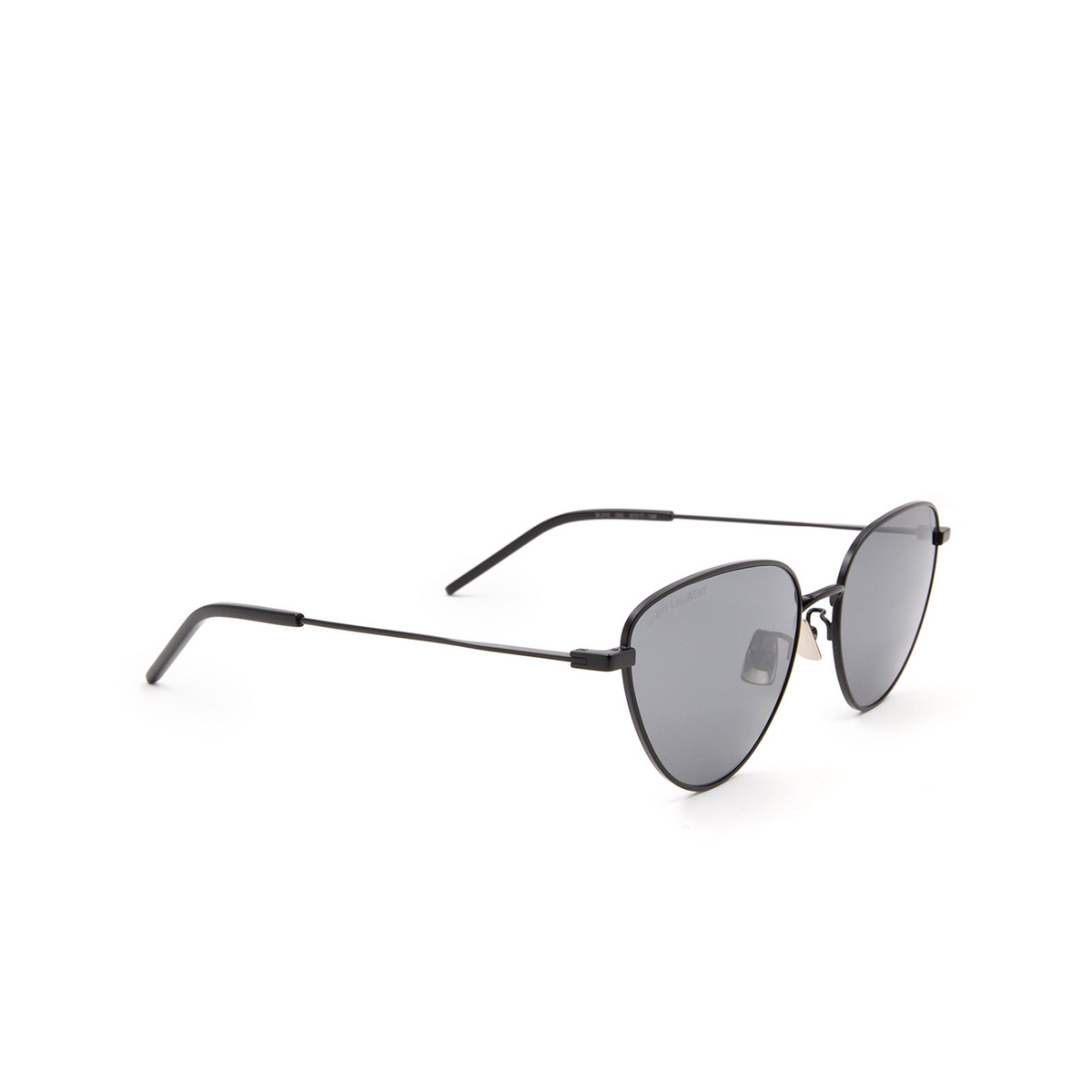 Saint Laurent® Irregular Sunglasses: SL 310 color Black 005 - 2/3.