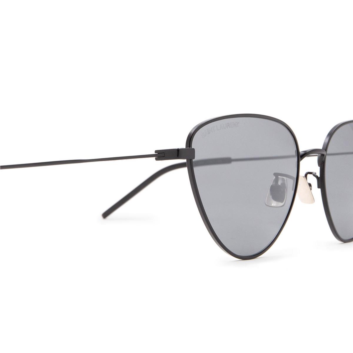 Saint Laurent® Irregular Sunglasses: SL 310 color Black 005 - 3/3.