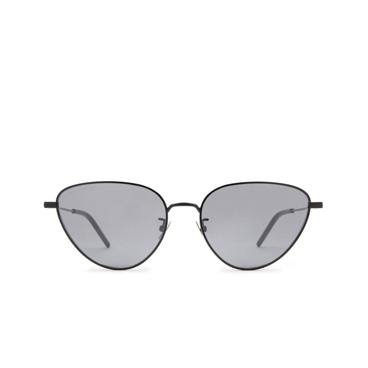 Saint Laurent® Irregular Sunglasses: SL 310 color Black 005 - 1/3.