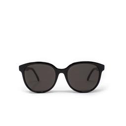 Saint Laurent® Round Sunglasses: SL 317 color Black 001.