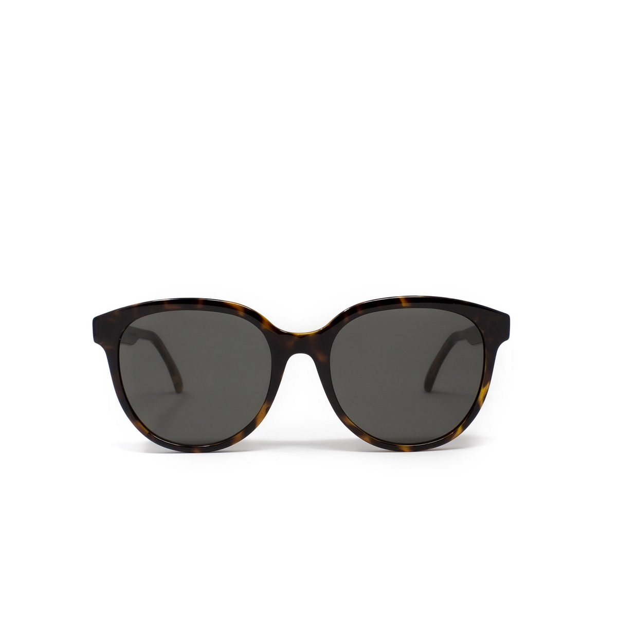 Saint Laurent® Round Sunglasses: SL 317 color Havana 002 - 1/3.