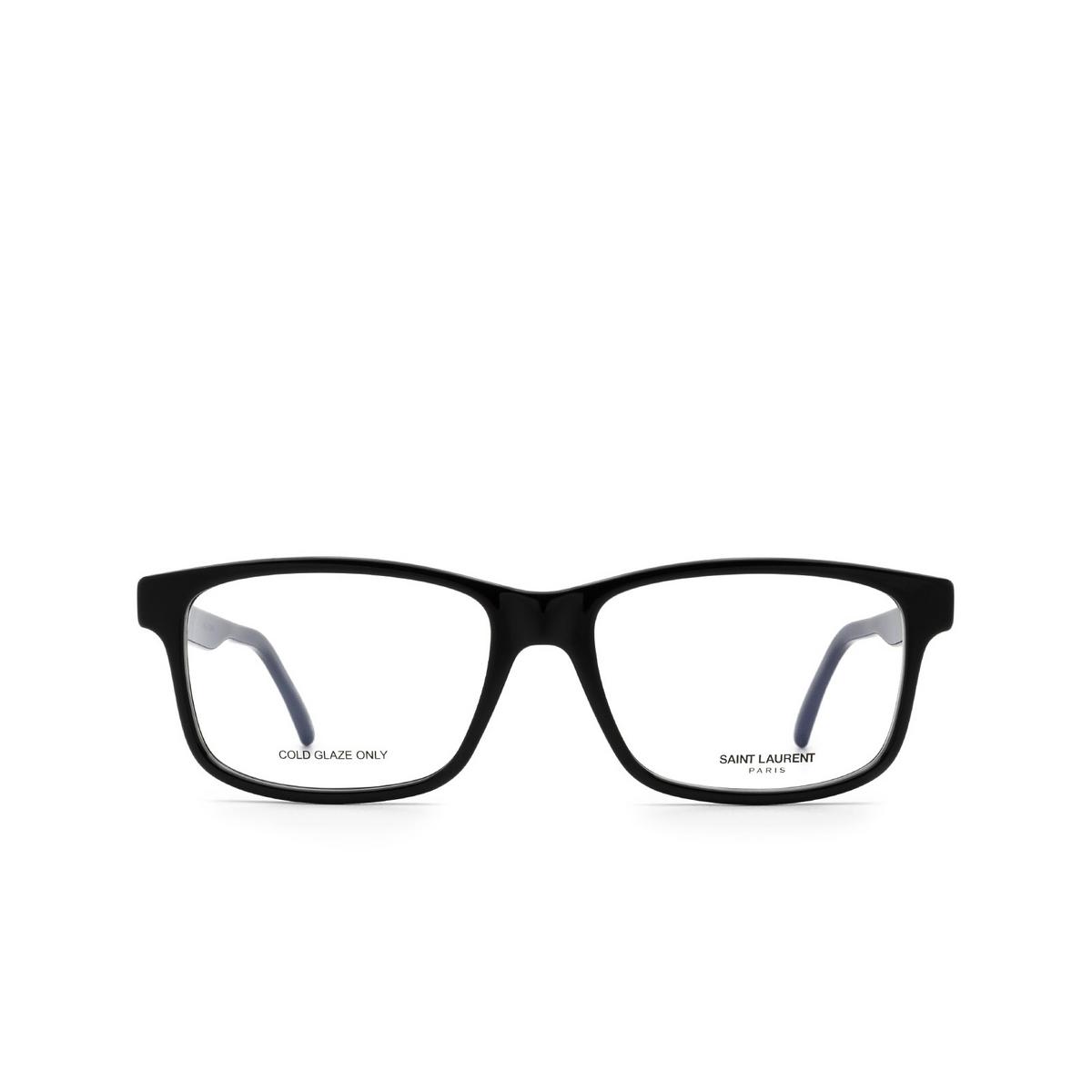 Saint Laurent® Rectangle Eyeglasses: SL 319 color Black 001.