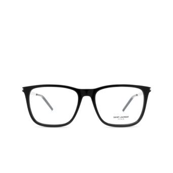 Saint Laurent® Square Eyeglasses: SL 345 color Black 001.
