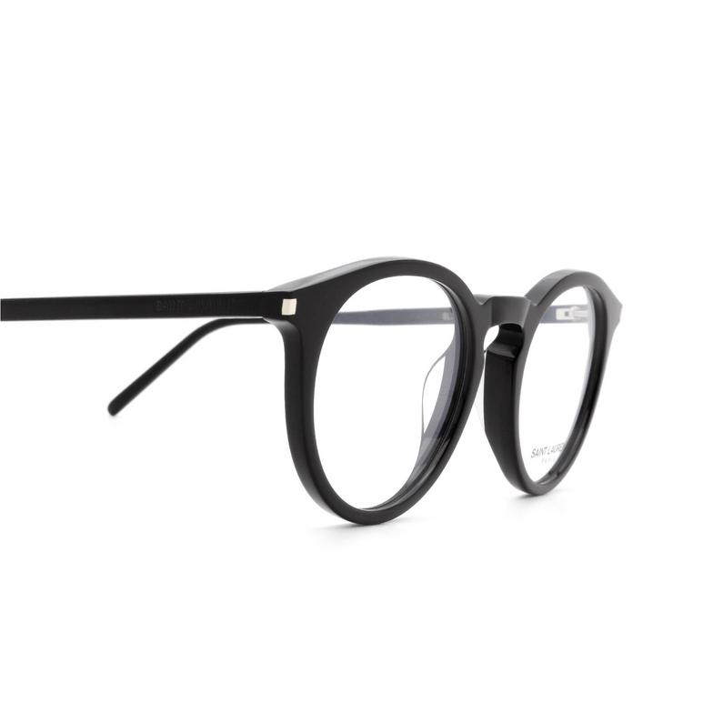 Saint Laurent® Round Eyeglasses: SL 347 color Black 001.