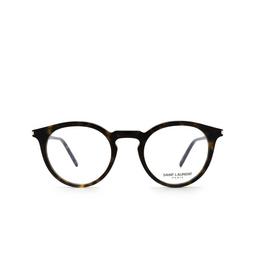 Saint Laurent® Eyeglasses: SL 347 color Dark Havana 002.
