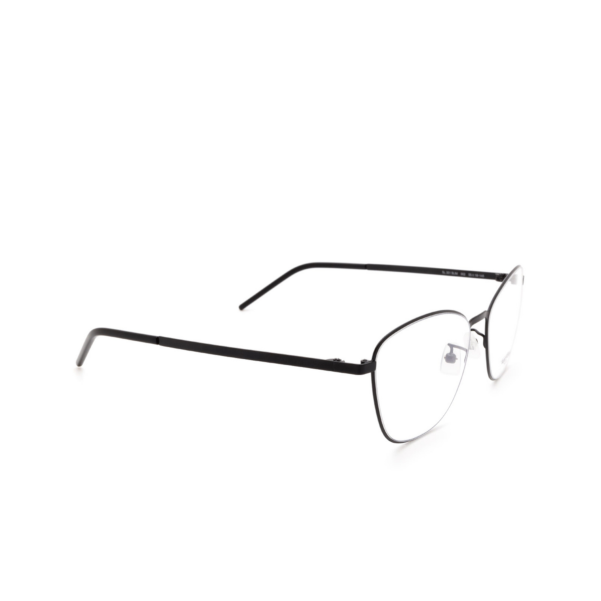 Saint Laurent® Cat-eye Eyeglasses: SL 351 SLIM color Black 002.