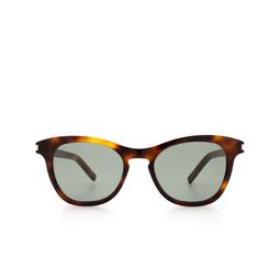 Saint Laurent® Cat-eye Sunglasses: SL 356 color Havana 003.