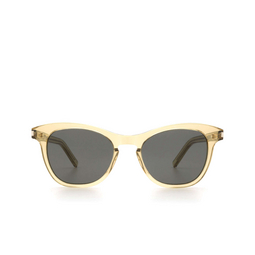 Saint Laurent® Cat-eye Sunglasses: SL 356 color Yellow 008.