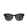 Saint Laurent® Cat-eye Sunglasses: SL 356 color Black 009 - product thumbnail 1/3.