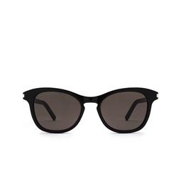 Saint Laurent® Cat-eye Sunglasses: SL 356 color Black 009.