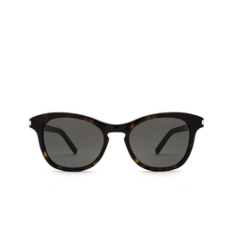 Saint Laurent® Cat-eye Sunglasses: SL 356 color Dark Havana 010.