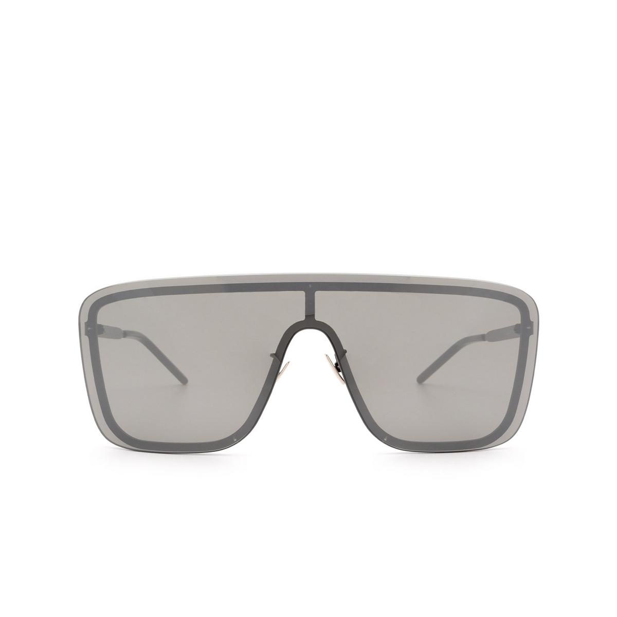 Saint Laurent® Mask Sunglasses: SL 364 MASK color Black 003 - front view.