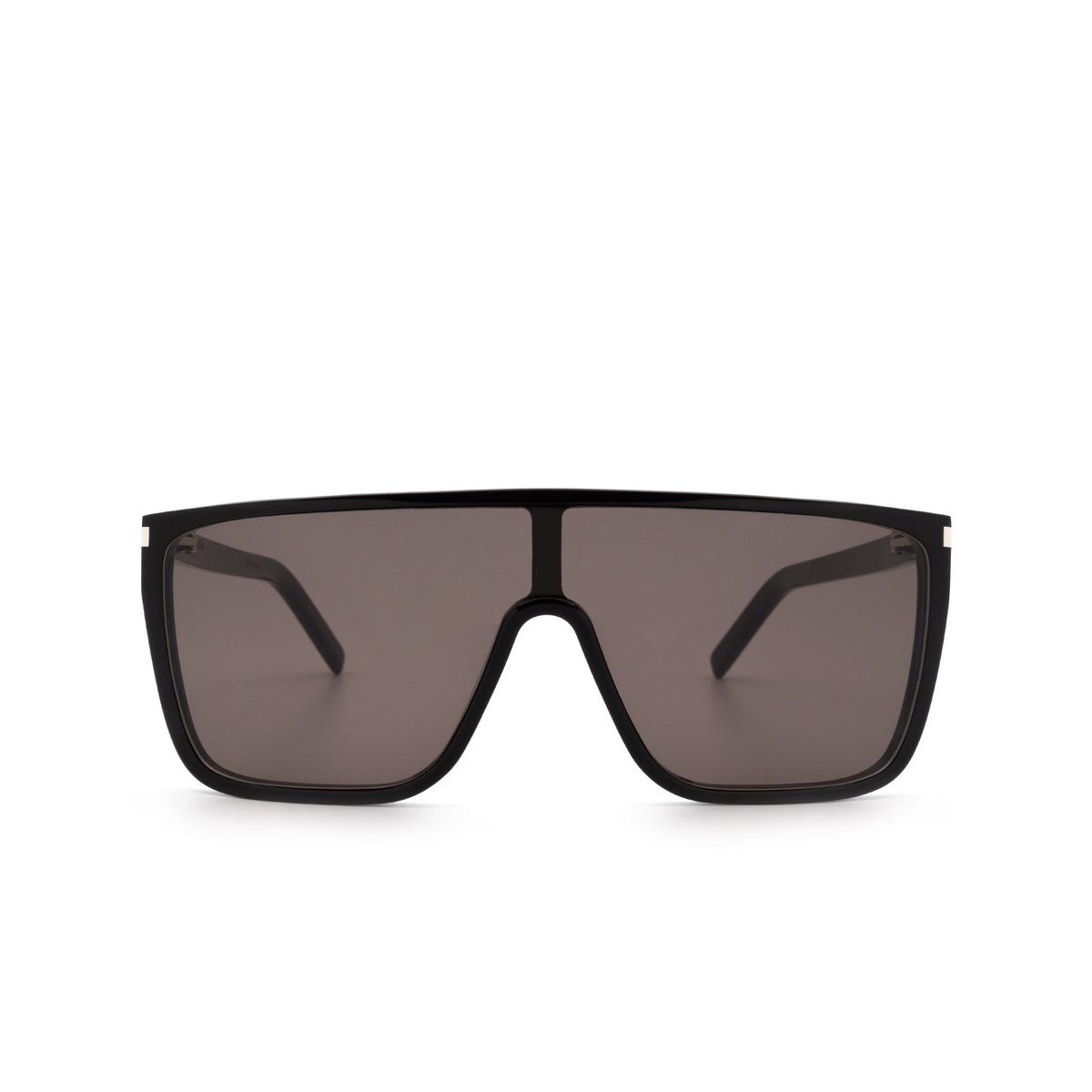Saint Laurent® Mask Sunglasses: SL 364 MASK ACE color Black 001 - front view.